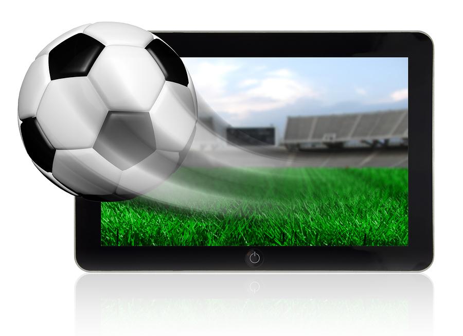 bigstock Soccer ball in motion flying o 56822849 Online betting